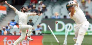 Bumrah hit fastest ball Australia
