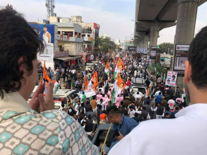 Congress Lucknow Road Show