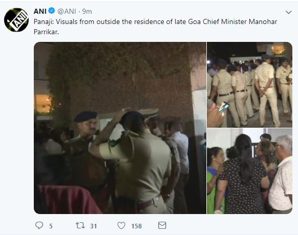 Breaking News, Viral News, Latest News, Trending News, Hindi News, Latest News hindi, India, HindustanFeed, Goa Chief Minister Manohar Parrikar died