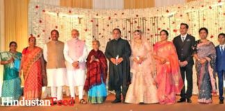 Breaking News, Viral News, Latest News, Trending News, Hindi News, Latest News hindi, India, HindustanFeed, PM Modi Chief Minister's son reception party Photo