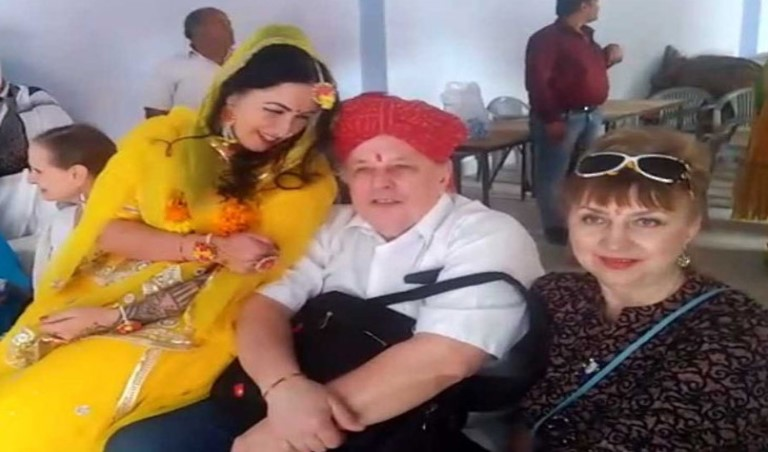 Breaking News, Viral News, Latest News, Trending News, Hindi News, Latest News hindi, India, HindustanFeed, Russian girl marriage with indian rajsthani boy
