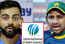 Pakistan demanded action ICC Virat Kohli