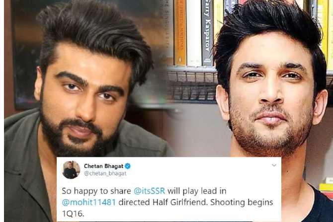 ा स्टार किड की वजह से हॉफ गर्लफ्रेंड फिल्म से बाहर हुए थे सुशांत सिंह राजपूत, यहाँ पढ़े पूरा मामला